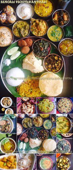 Bengali Vegetarian Thali