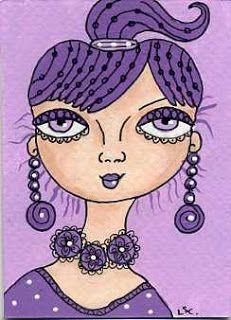 dots n doodles: 29 faces art challenge - #7