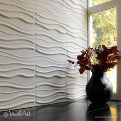 Textured Wall Panels, 20 Designs available. Wall decor ideas that add depth and elegance to your room. Wall panels are Paintable, Lightweight & easy to install.