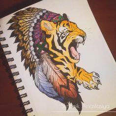Tiger | Татуировки, эскизы и тату-мастера России, Украины, Беларуси и из всего бывшего СССР
