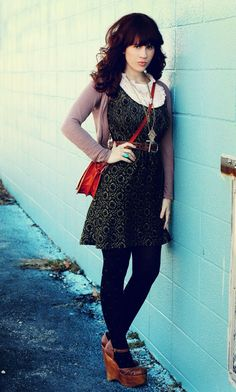 Love it all! Well, except the shoes, but it is a pretty great outfit!