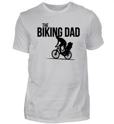 The biking dad. Father riding his bike with soon or daughter. Das Shirt für alle Fahrradfahrer, die als Vater gerne ihren Sohn oder ihre Tochter auf dem Rad durch die Gegend kutschieren.Als Shirt für Männer, Frauen und Kids, als Hoodie, Jacke, Sportbeutel und Sportshirt erhältlich!Fahrrad-Kram und mehr freizeitliches gibts hierMehr Sprachspiele findest Du in meinem Sprachspiel-Shop