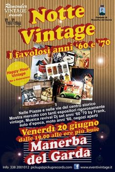 Manerba del Garda: Notte Vintage @gardaconcierge