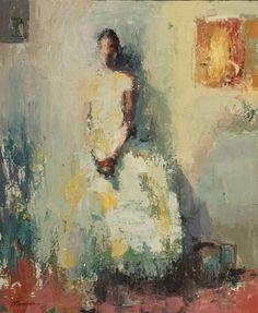 Wallflower by Lisa Noonis, Oil, 20 x 24