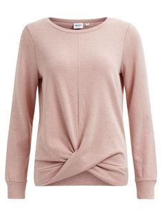 SWEAT PULLOVER, Misty Rose, large