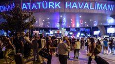 Atatürk Havalimanı işgal altında  Darbecilerin 15 Temmuz gecesi ele geçirmeye çalıştıkları önemli hedeflerden biri de Atatürk Havalimanı'ydı. Albay Mustafa Kol yönetimindeki darbeci askerler tanklarla havalimanına gelerek giriş ve çıkışları kapattı. Saat 22.54'de geldiğinde kule dâhil havalimanı kontrolü tamamen darbecilerin elindeydi. Daha sonra Cumhurbaşkanı Erdoğan'ın çağrısı üzerine havalimanına koşan vatandaşlar tankları durdurarak havalimanı kontrolünü d