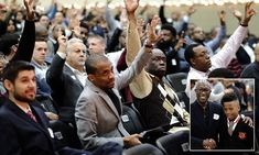 600 men stand in for absent fathers at Texas school's event
