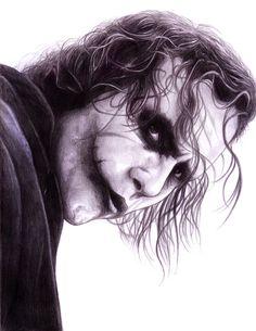 Joker (The Dark Knight)by  Iain Reed
