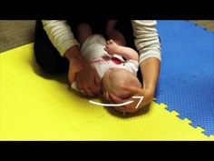 Right Torticollis Baby Stretches - YouTube