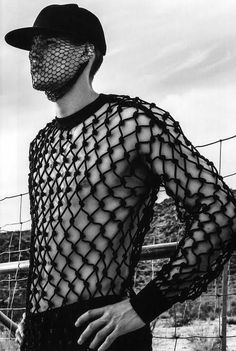 """l-homme-que-je-suis: """"Matt Woodhouse in Palm"""" Photographed by Jack Pierson and Styled by Gro Curtis for Hero Magazine """" Lolita Cosplay, High Fashion, Mens Fashion, La Mode Masculine, Pullover Hoodie, Androgynous Fashion, Hommes Sexy, Creation Couture, Festival Outfits"""