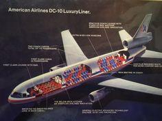 American Airlines DC-10 LuxuryLiner