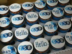 Corporate cupcakes.