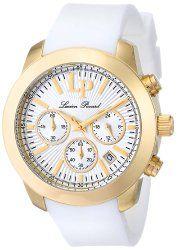 Lucien Piccard Women's LP-12938-YG-02 Belle Etoile Analog Display Japanese Quartz White Watch