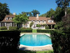 Spectacular Country Mansion - Darien, Connecticut. Represented by Becky Munro. See more eye candy on this home at http://www.halstead.com/sale/ct/darien/25-three-wells-lane/house/99007940