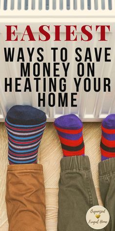 Make these simple changes in your home and save a bundle on heat immediately. Check out this list and see what money saving tips you're already doing and learn a few new ones that will make a big difference in your monthly heating bill.