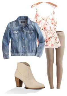 Caroline Forbes inspired outfit by sashlib on Polyvore featuring J.Crew, VILA and UGG Australia