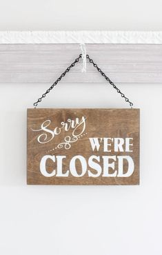 Open business sign, open closed sign, we& open sign, hanging stor Closed Signs, Open Signs, Office Is Closed Sign, Open Close Sign, Sorry We Are Closed, Closed For Holidays, Oriflame Beauty Products, Open Shop, Office Signs