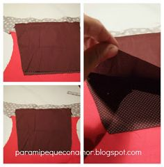 Para mi peque con amor: Riñonera con bolsillo de fuelle. Tutorial Wallet, Craft, Amor, Sew, Satchel Handbags, Purses, Fabric Purses, Leather, Sewing Tutorials