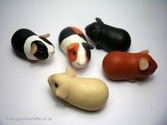 Mini clay Guinea Pigs!