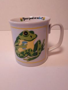 Frog coffee cup in Collectibles, Decorative Collectibles, Mugs, Cups | eBay
