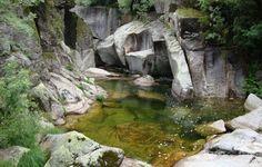 Le parc national de Peneda-Gerês. Portugal.