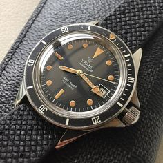 ⁉️Anyone with a spare bezel locker for this model⁉️ Yema Superman® Unusual Watches, Vintage Watches, Omega Watch, Superman, Geek Stuff, Magazine, Accessories, Instagram, Knives