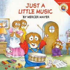 "Join #Little Critter for ""#Just A Little Music""."