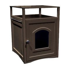 Attractive Carriers And Crates 116362: Merry Products Allen Litter Box End Table BUY  IT NOW ONLY