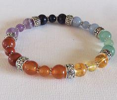 Gemstones: Red Jasper, Carnelian, Citrine, Green Aventurine, Angelite, Sodalite, Amethyst