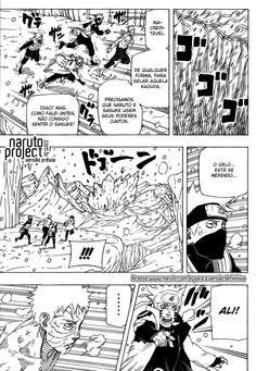 Lendo capítulo 683 :: Naruto