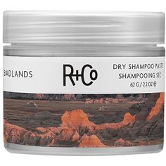 R+CO Badlands Dry Shampoo Paste ($29) ❤ liked on Polyvore featuring beauty products, haircare, hair shampoo, waterless hair shampoo and dry hair shampoo