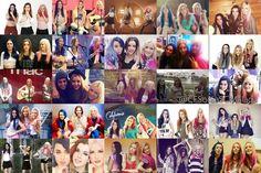 Maxi collage de las chicas