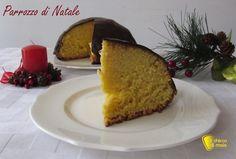 Parrozzo di Natale (ricetta abruzzese). Ricetta del dolce tipico natalizio dell'Abruzzo, a forma di cupola e ricoperto di cioccolato (anche senza glutine)