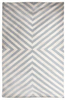 Jonathan Adler Bridget Gray/Natural Handwoven Rug - Modern - Rugs - by Zinc Door