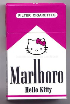 Marlboro, Hello Kitty - well if you have a lighter you may as well have these.