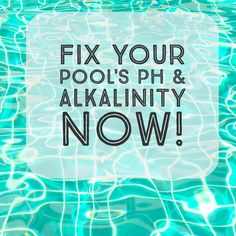 Pool chemical dosage chart pool water help pinterest - What causes low ph in swimming pools ...