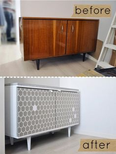 before and after via design sponge