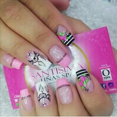 You are in the right place about logotipo Manicure Here we offer you the most beautiful pictures about the Manicure juvenil you are looking for. When you examine the part of the picture you can get th Crazy Nails, Us Nails, Nailart, Pedicure Manicure, Massage, Beautiful Pictures, Ann, Number, Finger Nails