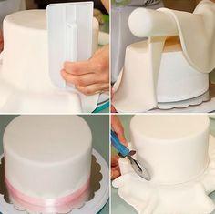 Receita de pasta americana para bolos que você vai aprender é econômica, ideal para fazer um bolo decorado para vender. Pasta Americana para Bolo Decorado