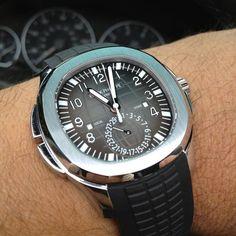 Patek Philippe 5164A Aquanaut Travel Time - $36400
