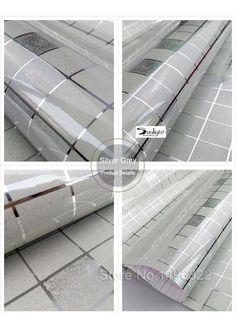10Meter Aluminum Foil SelfAdhesive Mosaic Stickers