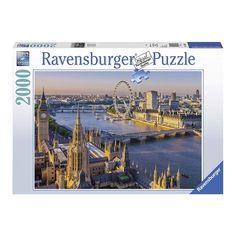 Puzzle 2000 piezas Atmósfera Londres 2000 Piece Puzzle, Free Puzzle, Ravensburger Puzzle, Puzzle Store, Star Wars Shop, London Bus, Thomas And Friends, A Whole New World, Zaragoza