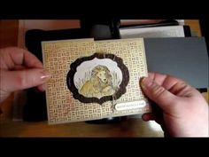 This tutorial will show you how to make a quick and easy fancy-fold card mechanism using the Big Shot and Stampin' Up!'s new Framelits dies.   Due to a number of requests, I've created a continuation of this tutorial (part 2), where I share how to add the paper layer to your card base.