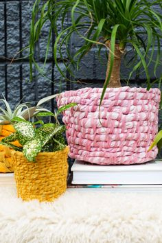 Easy Fabric Planter