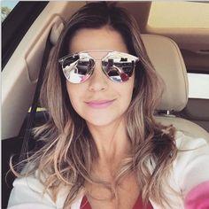 2015 hot silver frame half blue mirror lens polarized so real sunglasses  for women men with 5b31ea910e