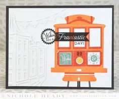Frantastic Day Card by Nichole Heady for Papertrey Ink (January 2015)