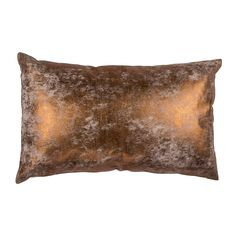 Leno Cushion, Copper, Broste Copenhagen