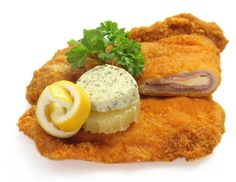 Cordon Bleu - Rezept - ichkoche.at French Toast, Breakfast, Food, Ham And Cheese, Side Dishes, Easy Meals, Morning Coffee, Essen, Eten