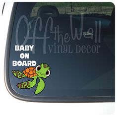 Squirt Baby on Board (Finding Nemo)