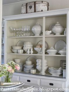 Pastels and Whites: Antique Swedish cabinet / Antique Swedish corner cabinet ...